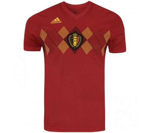 Camisa Adidas Bélgica I 2018 Torcedor Adulto Oficial