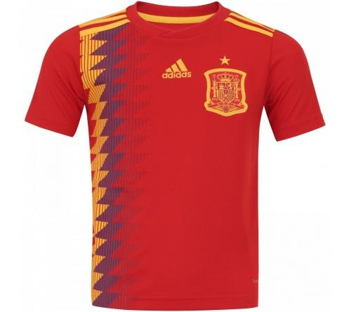 Camisa Adidas Espanha I 2018 Infantil Oficial