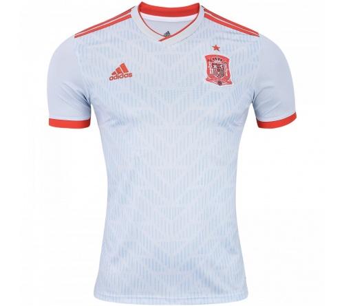 Camisa Adidas Espanha II 2018 Torcedor Adulto Oficial