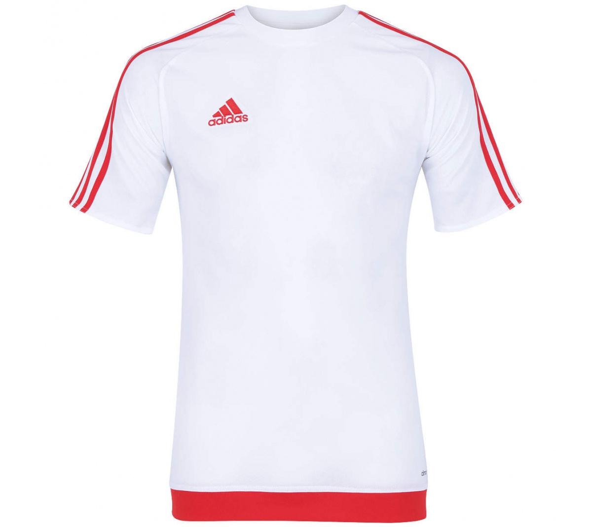 599cd62570440f  Camisa Adidas Estro 15 Branco Vermelho - Mundo do Futebol  79e8dfb77b919d ... 6a417ab1405df