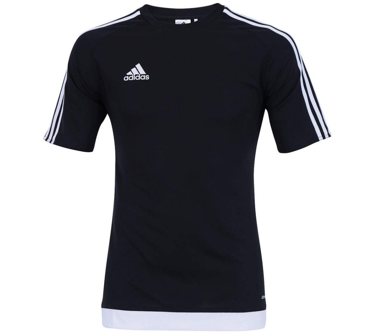Camisa Adidas Estro 15 Preto Branco - Mundo do Futebol 8414b78e621af