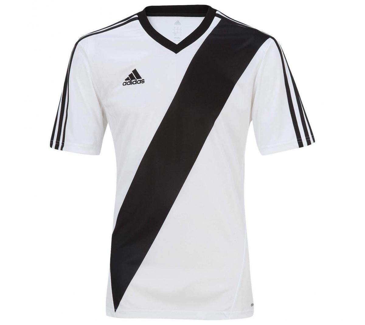 Camisa Adidas Inspired Estro 13 Azul e Preta - Mundo do Futebol 9a4294143f265