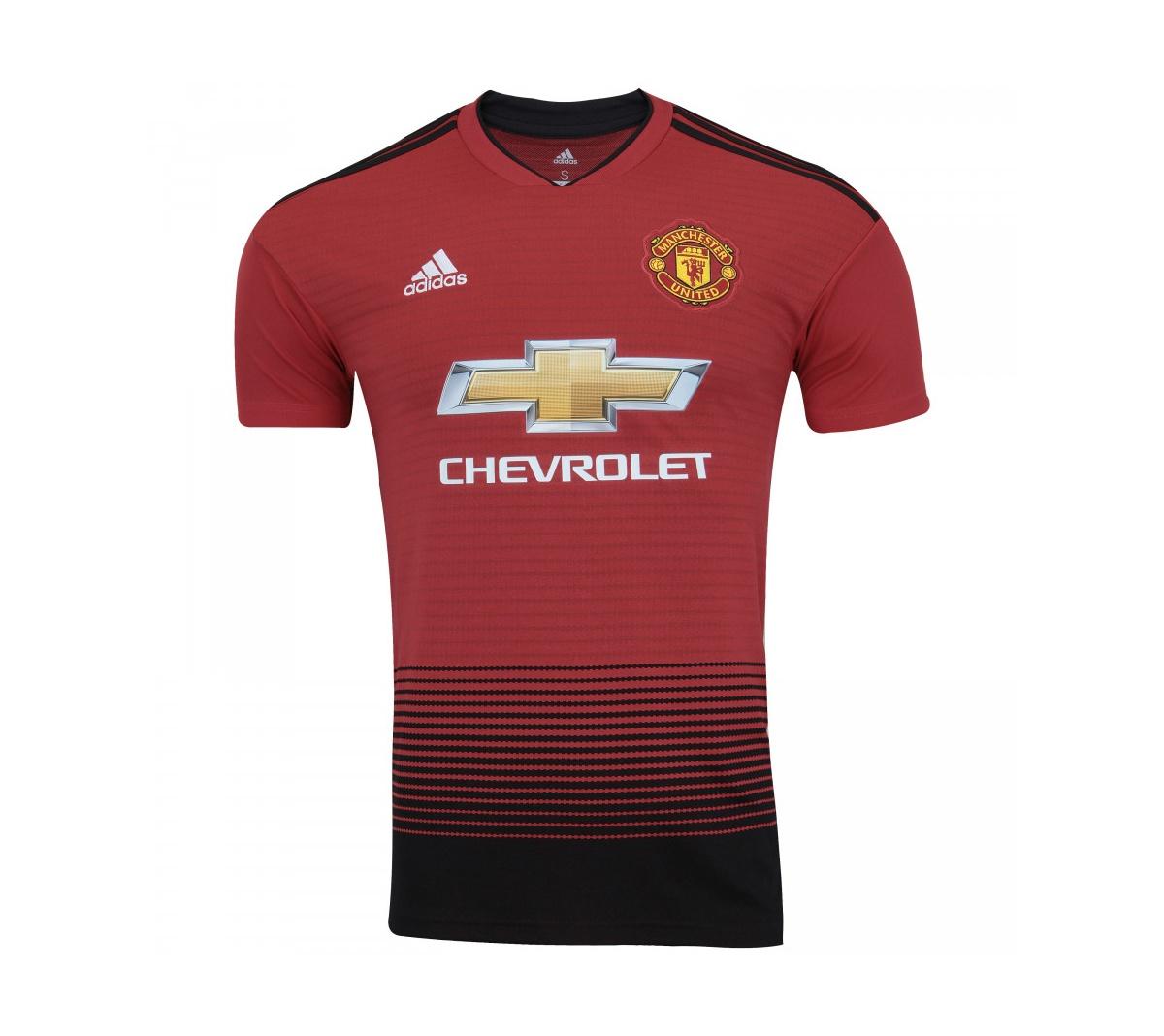 Camisa Adidas Manchester United I 2018/19