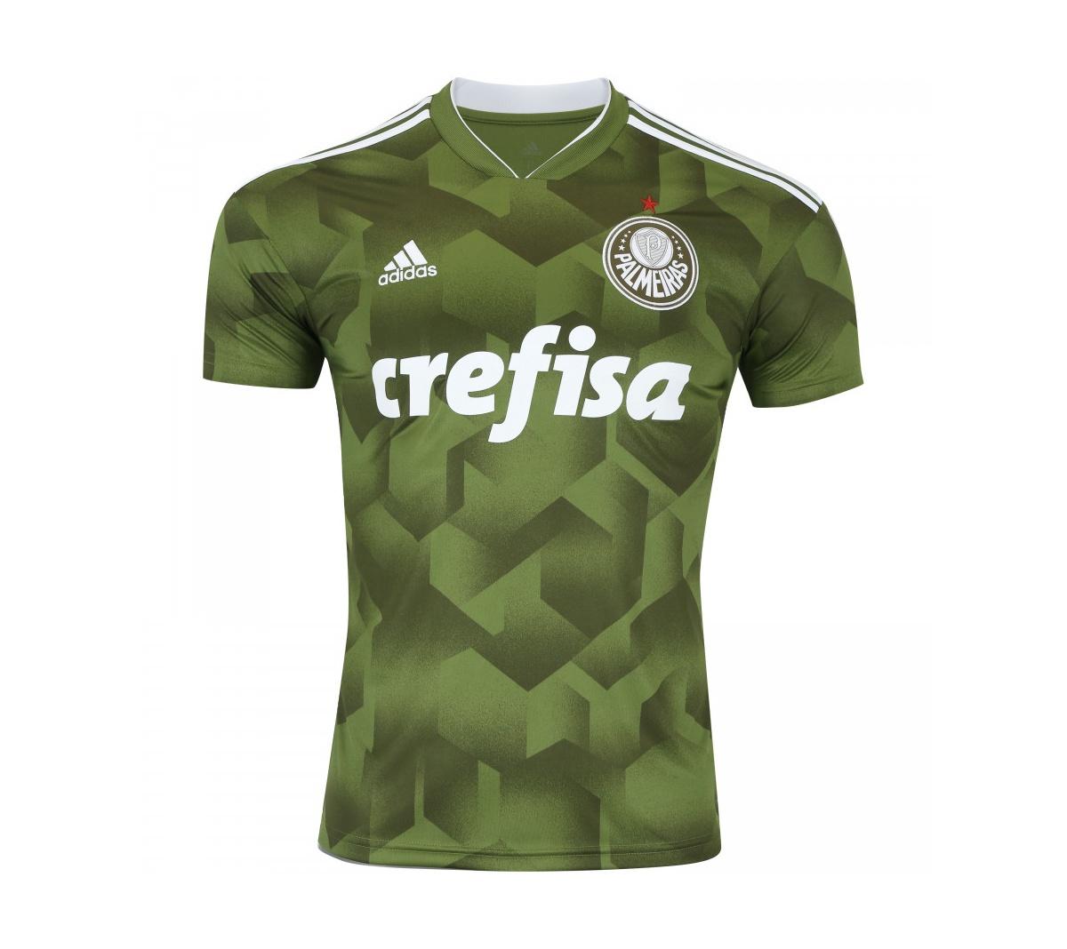 bbfdd8a81 Camisa Adidas Palmeiras III Adulta 2018 19 Oficial. - Mundo do Futebol