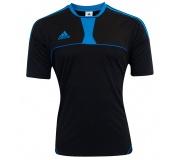 Camisa Adidas Pepe Preto e Azul