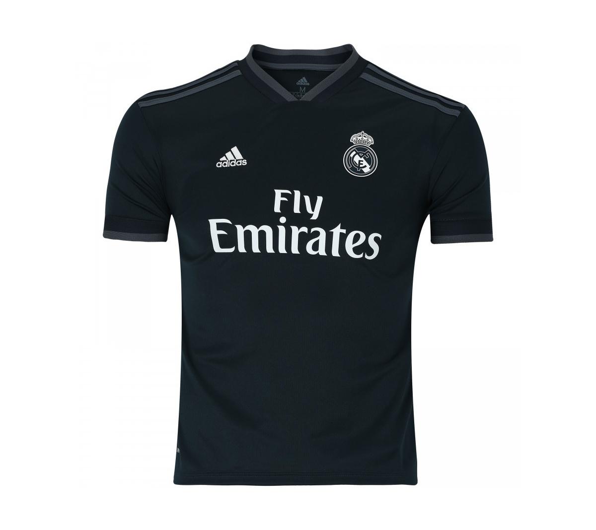 Camisa Adidas Real Madrid II Infantil 2018/19