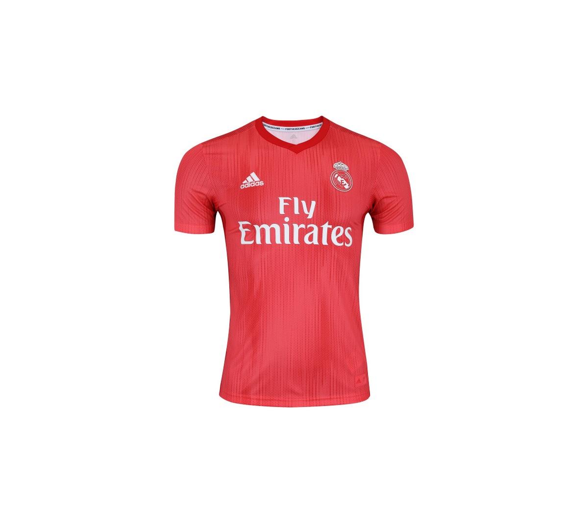 Camisa Adidas Real Madrid III Infantil 2018 19 - Mundo do Futebol c476e7512640a