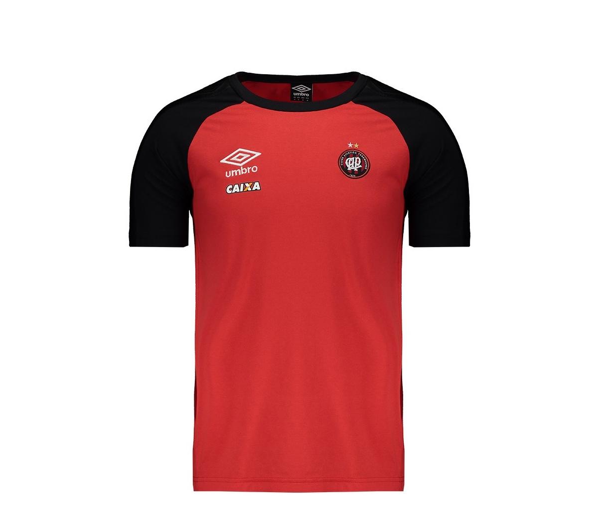 Camisa Atlético Paranaense Concentração Umbro 2017