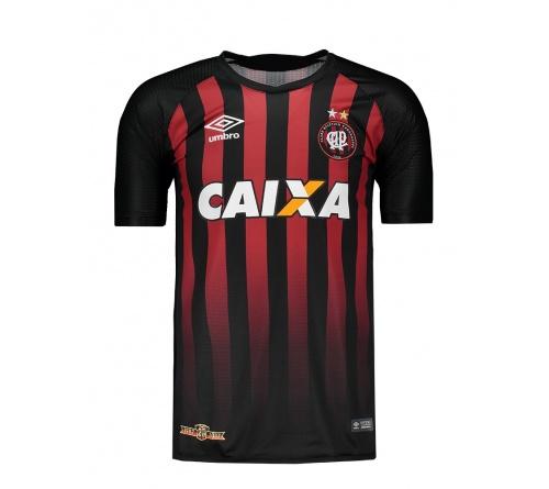Camisa Atlético Paranaense I Umbro Oficial 2017/18
