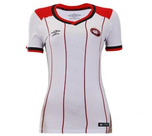 528d2e4af0 Camisa Atlético Paranaense II Umbro 2016 Feminina Camisa Atlético  Paranaense II Umbro 2016 Feminina ...