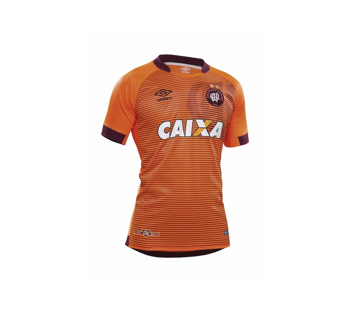 Camisa Atlético Paranaense II Umbro 2017/18
