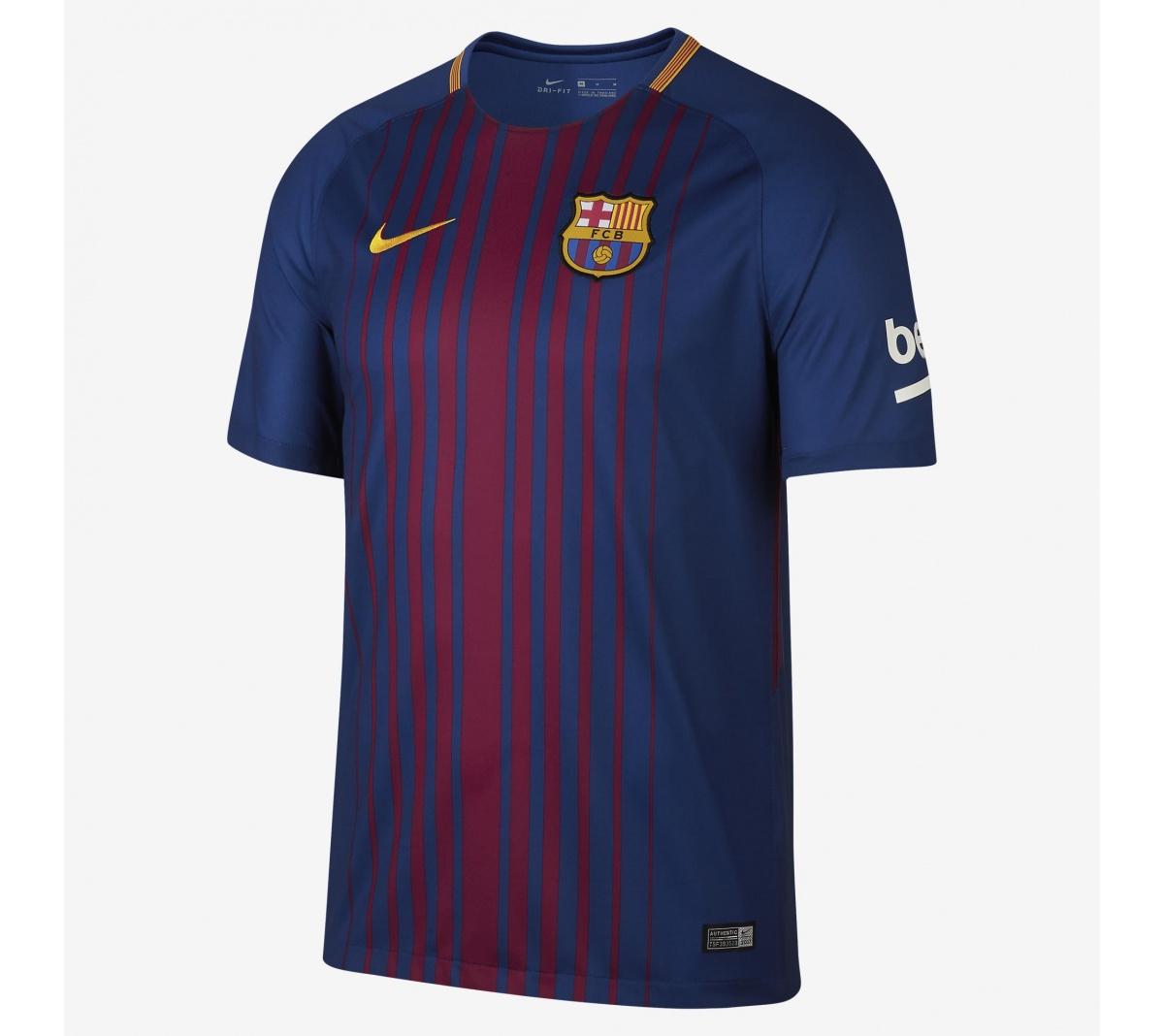 Camisa Barcelona I Nike 2017/18