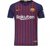 ad9d5438e2f Camisa Barcelona I Nike Oficial 2018 19 Infantil