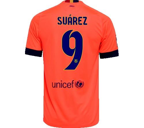 Camisa Barcelona II Suárez