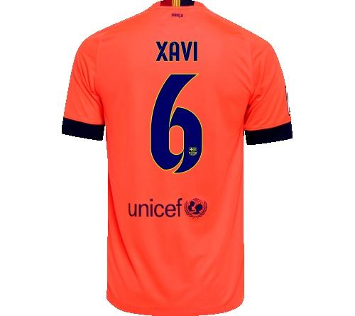 Camisa Barcelona II Xavi