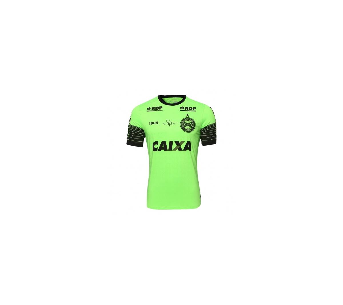 Camisa Coritiba Adulta Oficial Jogador 1909 Goleiro 2018.