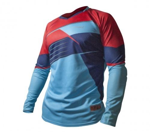 Camisa De Goleiro Rinat Arkano M/L Az/ Vm