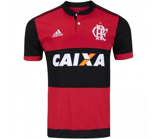 Camisa Flamengo I Adidas C/Patrocínio 2017/18