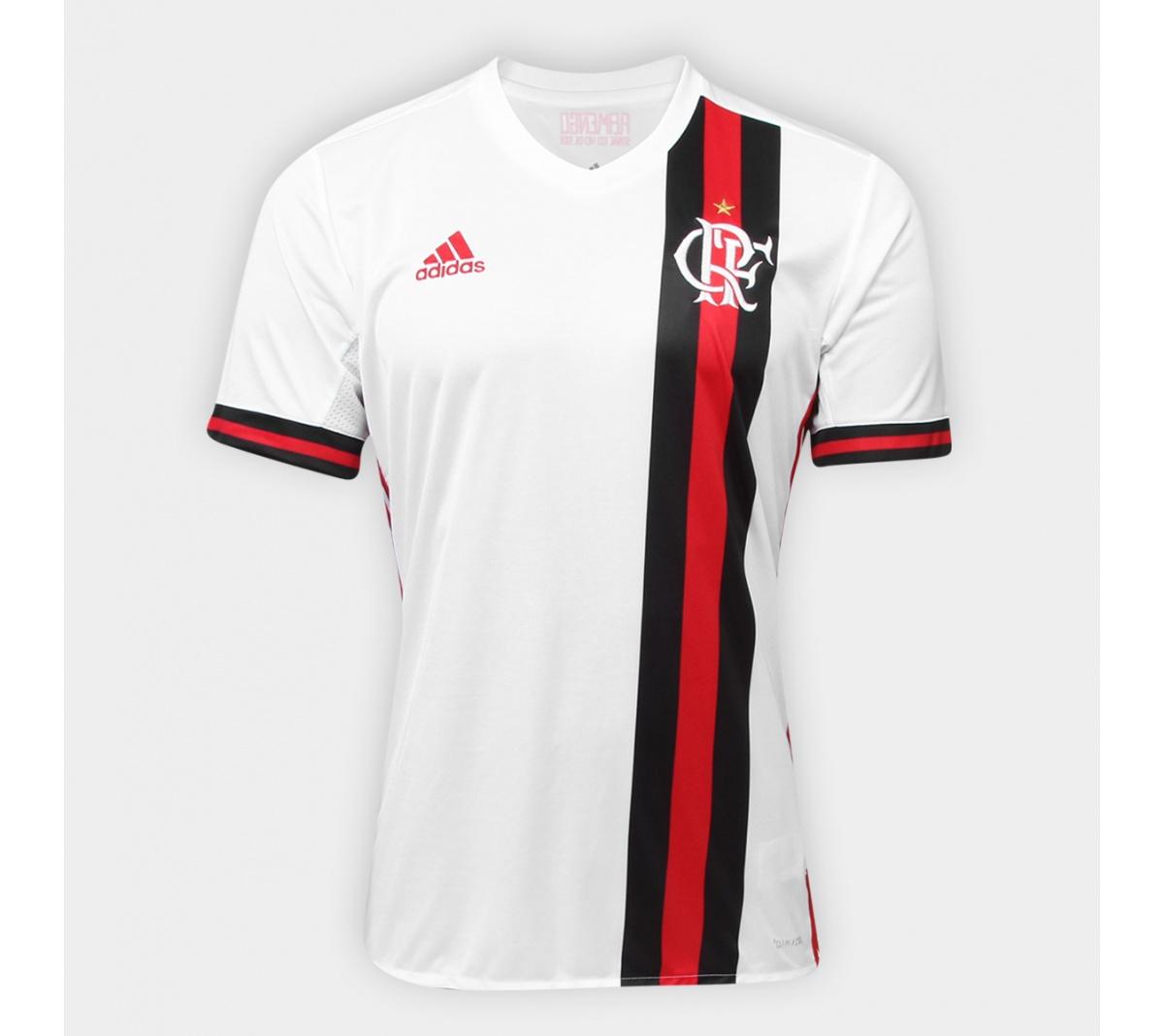 Camisa Flamengo II Adidas 2017/18