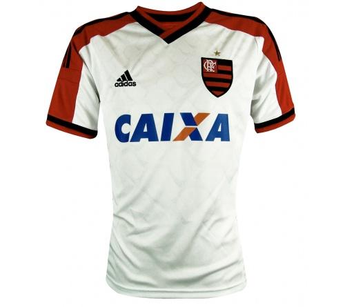 Camisa Flamengo II Adidas Oficial  Infantil C/ Pat