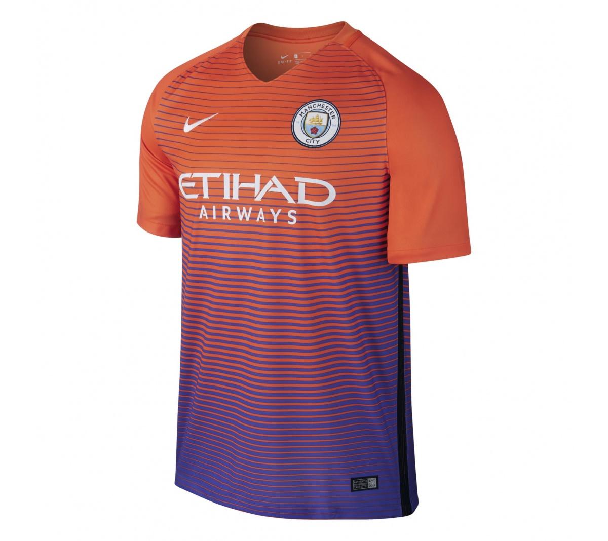 Camisa Manchester City III Nike 2016/17