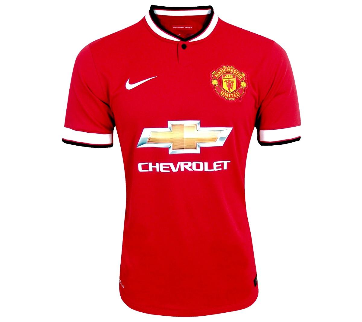 Camisa Manchester United I Nike Oficial 2014/15
