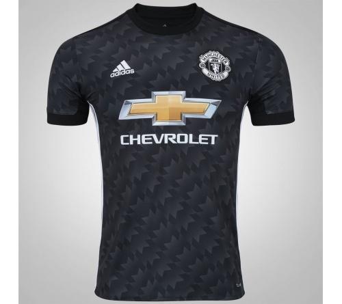 Camisa Manchester United II Adidas 2017/18 Inf.