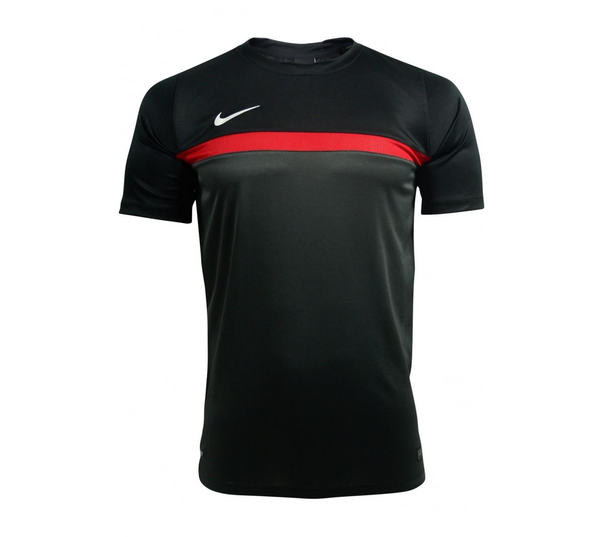 7558dddf0d09f Camisa Nike Academy SS Training Pt/Vm - Mundo do Futebol