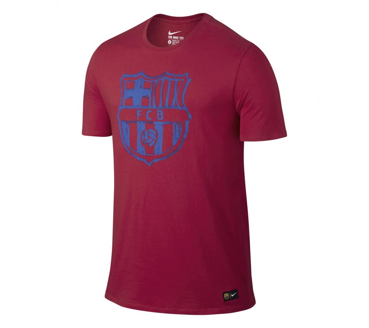 Camisa Nike Barcelona Crest Tee Viagem Infantil - Mundo do Futebol bb9bf25a001