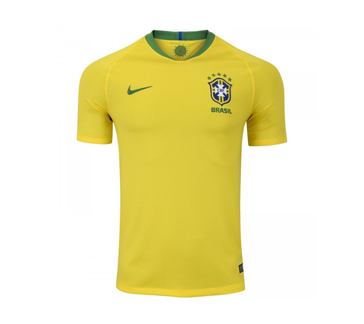 Camisa Nike Brasil I 2018/19 Torcedor Masculina