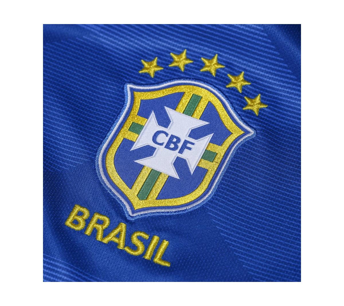 Camisa Nike Brasil II 2018 19 Torcedor Infantil - Mundo do Futebol 8c7deb5ca47