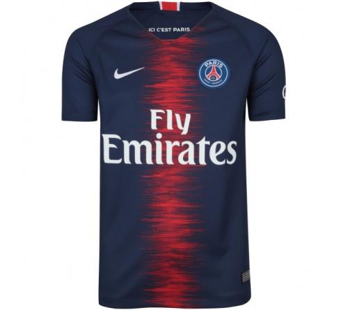 Camisa Nike Paris Saint Germain I 2018 19 Infantil - Mundo do Futebol f8f4186220a2f