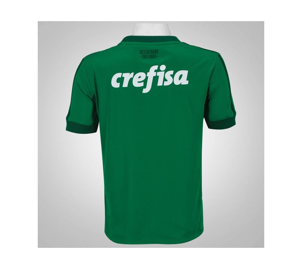 Camisa Palmeiras I Adidas 2017/18 Infantil