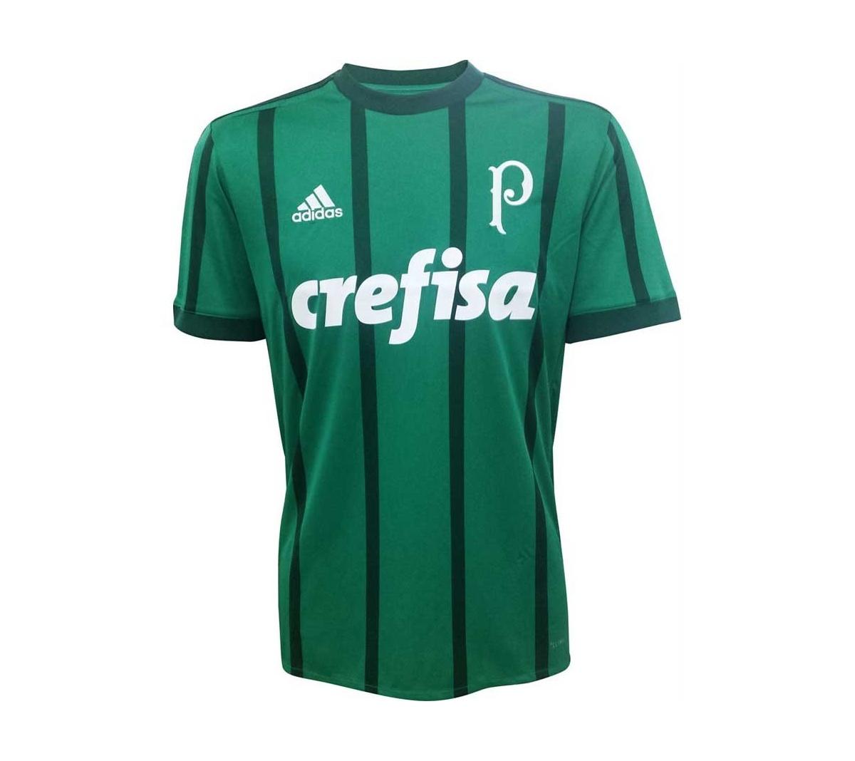 Camisa Palmeiras I Adidas 2017/18