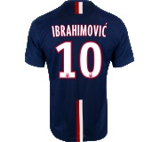 Camisa Paris Saint Germain I Ibrahimović