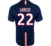 Camisa Paris Saint Germain I Lavezzi