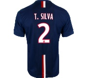 Camisa Paris Saint Germain I Thiago Silva