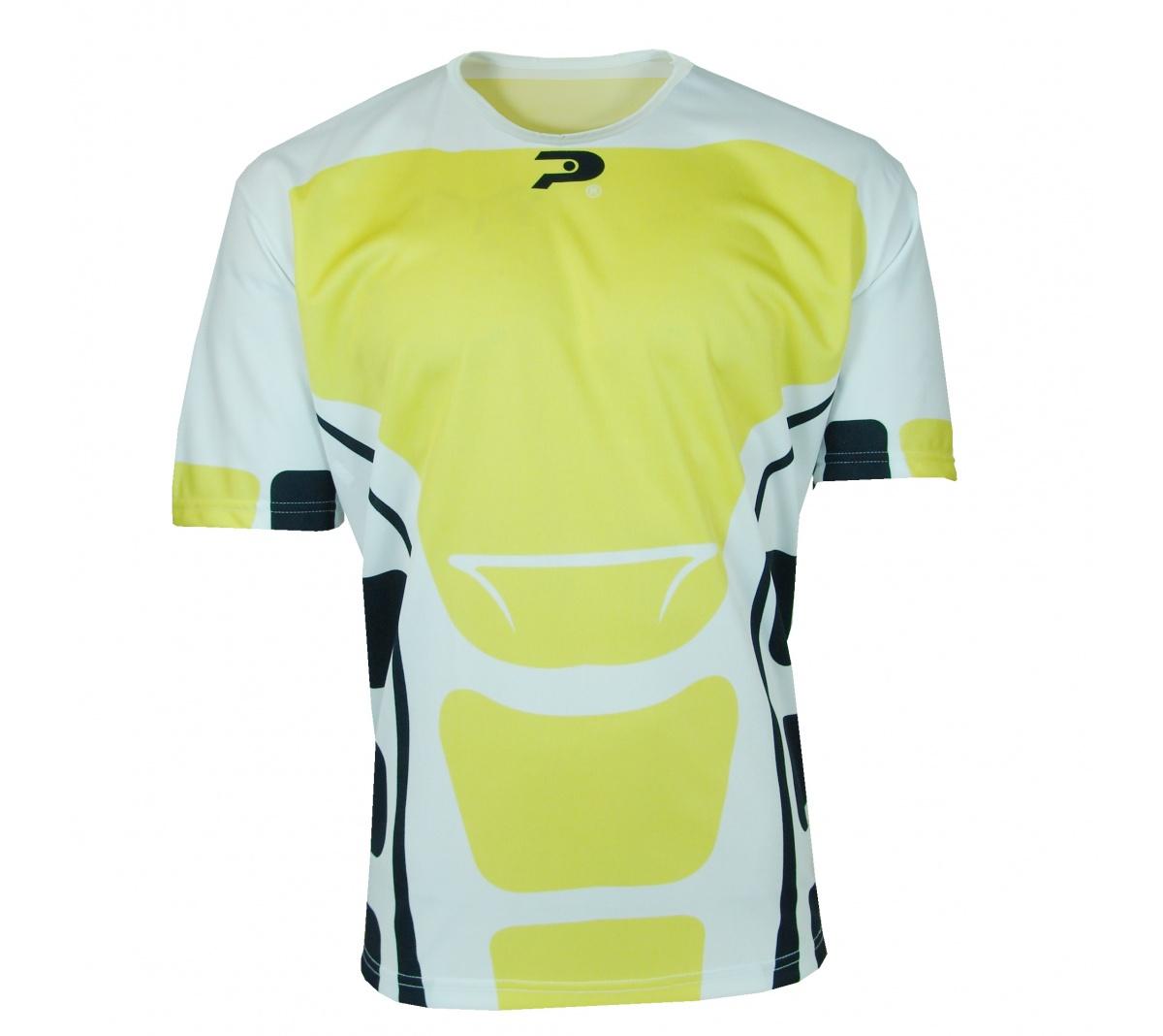 Camisa Placar Beirut Branco e Amarelo Camisa Placar Beirut Branco e Amarelo  ... 50fbc0b9a206e