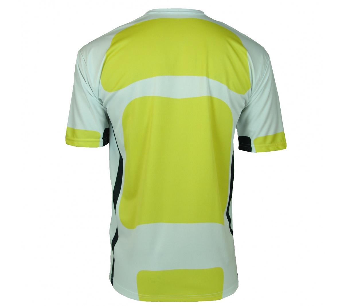 Camisa Placar Beirut Branco e Amarelo - Mundo do Futebol f5624624722a4
