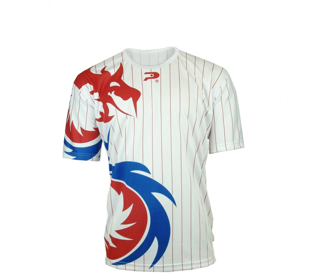Camisa Placar Dragão Branco Azul Vermelho - Mundo do Futebol 49bbf0ed4008d