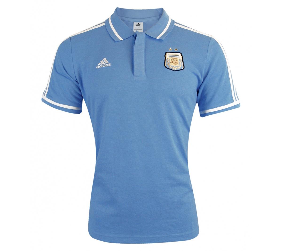 7043291fa1f84 Camisa Polo Adidas Argentina ESS Camisa Polo Adidas Argentina ESS ...