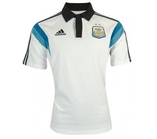 Camisa Polo Adidas Seleção Argentina Viagem 2014 - Mundo do Futebol c56fbc6c55502