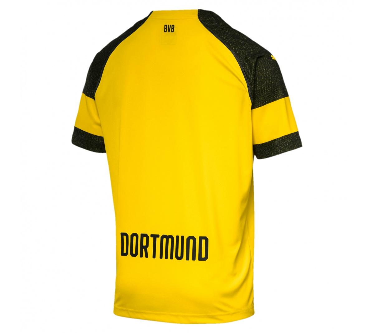 Camisa Puma Borussia Dortmund I Puma Infantil 18/19.