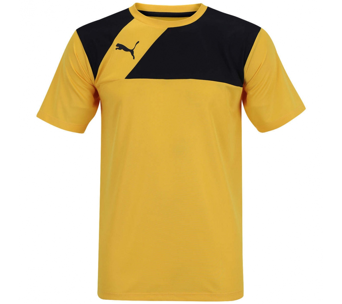 abbec8debe00c Camisa Puma Entry Training Amarelo com Preto - Mundo do Futebol