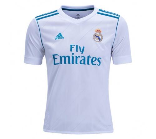 Camisa Real Madrid I Adidas 2017/18 Infantil