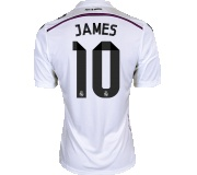 Camisa Real Madrid I James Rodriguez