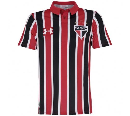 Camisa São Paulo II Under Armour 2016 Infantil