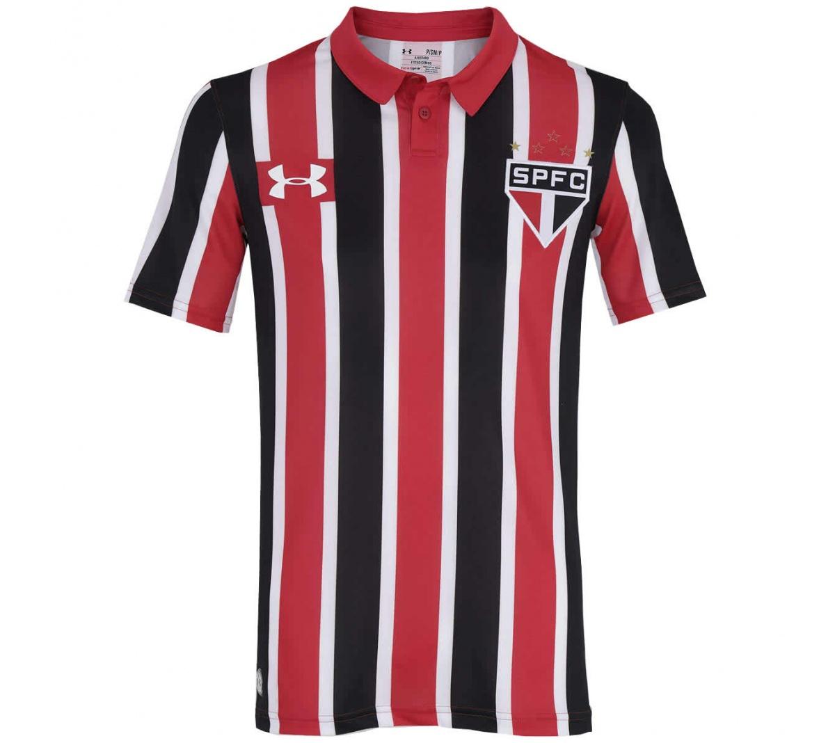 Camisa São Paulo II Under Armour 2016