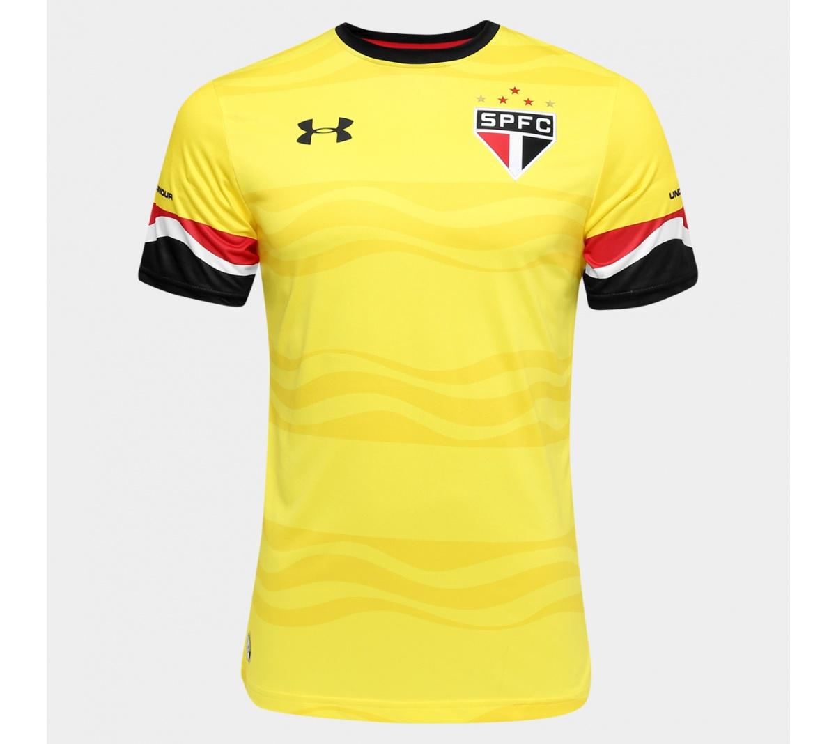 Camisa São Paulo III Under Armour Oficial 2016/17