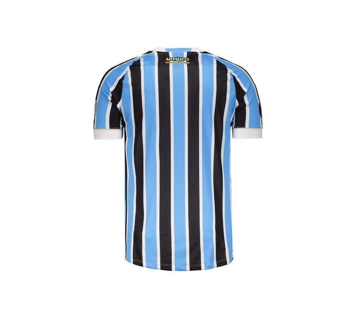 Camisa Umbro Grêmio I 2018 19 Of. Game - Mundo do Futebol 953308f1a50ee